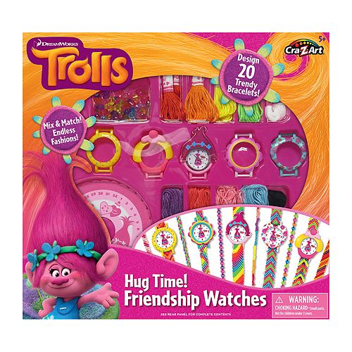 Cra-Z-Art DreamWorks Trolls Hug Time Friendship Watches Kit