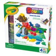 Crayola Dino Island Modeling Dough Playset