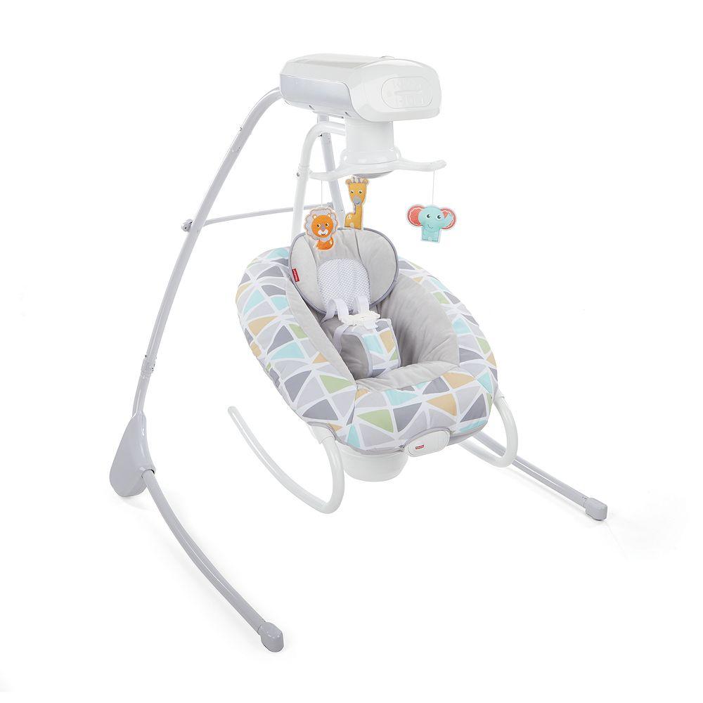 Fisher-Price 2-in-1 Deluxe Cradle 'n Swing