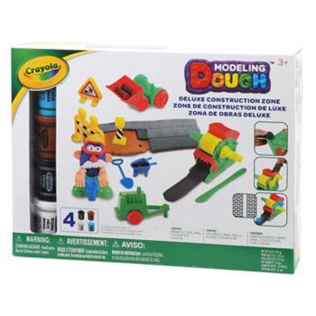Crayola Deluxe Construction Zone Modeling Dough Kit