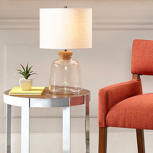 Urban Habitat Glass Table Lamp