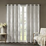 SunSmart Abel Ogee Knitted Jacquard Total Blackout Window Curtain