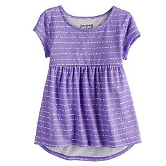 Toddler Girl Jumping Beans® Short Flutter Sleeve Babydoll Top