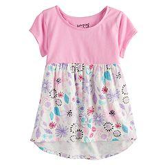 Toddler Girl Jumping Beans® Short Flutter Sleeve Babydoll Top