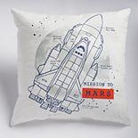 SONOMA Goods for Life® Kids Rocket Throw Pillow