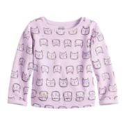 Toddler Girl  Jumping Beans® Cat Softest Fleece Sweater