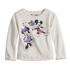 Disney's Mickey & Minnie Mouse Softest Fleece Sweater by  Disney/Jumping Beans®
