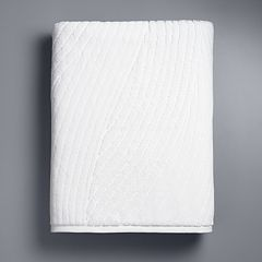 Simply Vera Vera Wang Sculptural Wave Bath Sheet