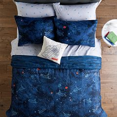 SONOMA Goods for Life™ Kids Navy Spaceship Bedding Set