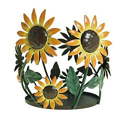 SONOMA Goods for Life™ Large Sunflower Candle Jar Holder