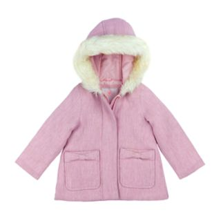 Girls 4-6x Carter's Faux-Wool Midweight Jacket