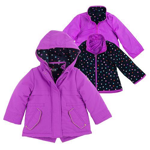 Girls 4-8 OshKosh B'gosh® 4-in-1 Heavyweight Systems Jacket