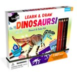 SpiceBox Imagine It! Dinosaurs Stencil & Color Kit
