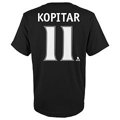 Boys 8-20 Los Angeles Kings Anze Kopitar Name and Number Tee