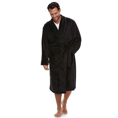 Men's Chaps Shawl-Collar Soft-Touch Robe