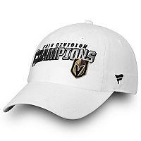Adult Vegas Golden Knights 2018 Division Champions Adjustable Cap