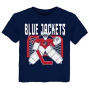 Toddler Columbus Blue Jackets Tend Goal Tee