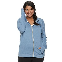 Juniors' Plus Size SO® Zip-Up Hoodie