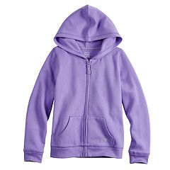 Girls 4-10 Jumping Beans® Fleece Zip-Up Hoodie