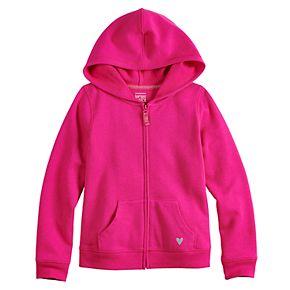 Girls 4-10 Jumping Beans® Fleece Zip-Up Hoodie