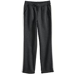 Boys 4-12 Jumping Beans® Side Pieced Fleece Pants