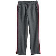 Boys 4-12 Jumping Beans® Side Pieced Fleece Pants