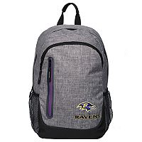 Forever Collectibles Baltimore Ravens Team Logo Backpack