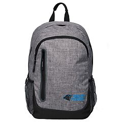 Forever Collectibles Carolina Panthers Team Logo Backpack