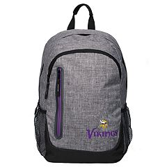 Forever Collectibles Minnesota Vikings Team Logo Backpack