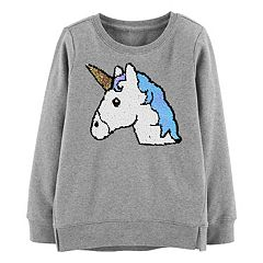 Girls 4-12 OshKosh B'gosh® Unicorn Flip-Sequin Sweatshirt