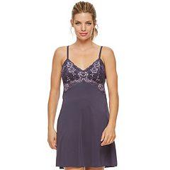 Women's Montelle Intimates Lace Chemise 9395