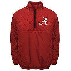 Adult Franchise Club Alabama Crimson Tide Clima Quarter-Zip Jacket