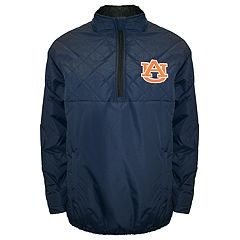 Adult Franchise Club Auburn Tigers Clima Quarter-Zip Jacket