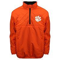 Adult Franchise Club Clemson Tigers Clima Quarter-Zip Jacket