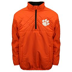 Adult Franchise Club Clemson Tigers Clima Quarter-Zip Jacket