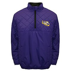 Adult Franchise Club LSU Tigers Clima Quarter-Zip Jacket