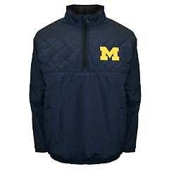 Adult Franchise Club Michigan Wolverines Clima Quarter-Zip Jacket