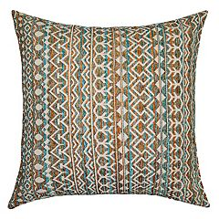 Spencer Home Decor Brenna Geometric Striped Throw Pillow