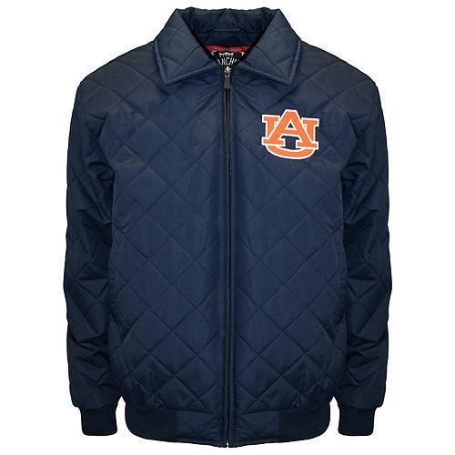 Adult Franchise Club Auburn Tigers Clima Full-Zip Jacket