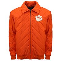 Adult Franchise Club Clemson Tigers Clima Full-Zip Jacket