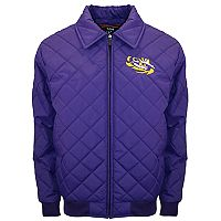 Adult Franchise Club LSU Tigers Clima Full-Zip Jacket