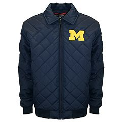 Adult Franchise Club Michigan Wolverines Clima Full-Zip Jacket