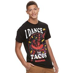 Men's Deadpool Dance For Tacos Tee