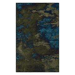 Brumlow Mills Rainier Contemporary Abstract Printed Rug