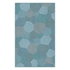 Brumlow Mills Honeycombs Geometric Printed Rug