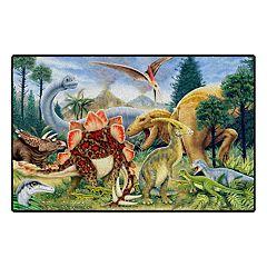 Brumlow Mills Dinosaurs Printed Rug