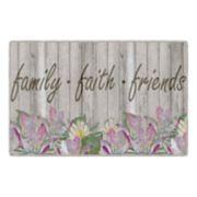 Brumlow Mills Family, Faith, & Friends Seasonal Printed Rug