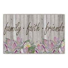 Brumlow Mills Family, Faith, & Friends Seasonal Printed Rug