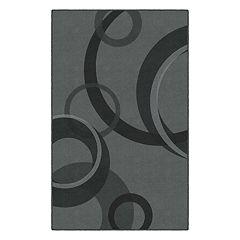 Brumlow Mills Darien Circles Contemporary Geometric Printed Rug
