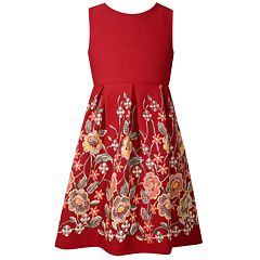Girls 7-16 Bonnie Jean Sleeveless Open Back Pleated Dress
